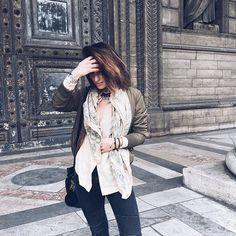 SAMANTHA KIST www.samanthakist.com Blogger Mode Made In Belgium Blogger Belgian Girl Fashion Yesterday's outfit !  — #kaki #fashionista #street #streetstyle #style #bloggers #blogger #designer #blog #bloggerlife #bloggerstyle #outfit #ootd #lookoftheday #look #parisianblogger #girl #girls #belgianblogger #paris #parisianstyle #parisiangirl