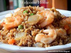 Welcome Home Blog: Shrimp Fried Rice