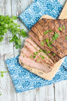 Italian party, Flank steak and Steaks on Pinterest