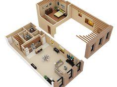 Studio 1 Bath Apartamento Em Chicago Il Cobbler Square Loft Apartamentos Bedroom Floor Plans
