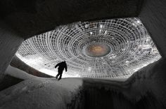 House of the Bulgarian Communist Party — Mount Buzludzha, Bulgaria | 17 Surreally Creepy Abandoned Places Around The World