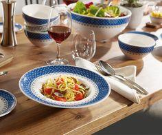 Vajilla Casale Blu #tableware #mesa #vajilla #vajillas #vajillasvilleroyboch #platos #tazas #porcelana #CasaleBlu
