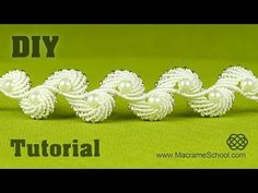 Diamond Leaf Bracelet - Macrame Tutorial - YouTube