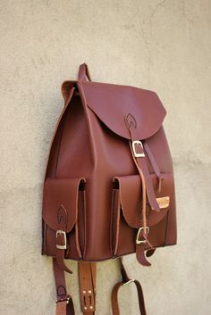 rucsac City - genuineleather. backpack Leather Accessories, Leather Bags, Satchel, Backpacks, City, Zapatos, Leather Tote Handbags, Leather Formal Bags