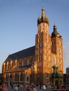 St. Mary's Church, Krakow, Poland. My absolutely favorite church, ever.