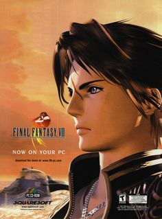 Ad for the PC version of Final Fantasy VIII.