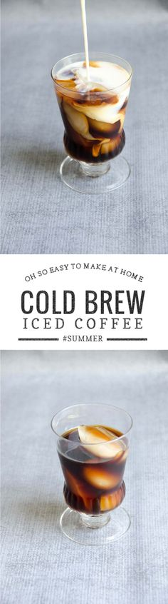 Perfect cold brewed iced coffee is so easy (and much less expensive!) to make at home. via @umamigirl