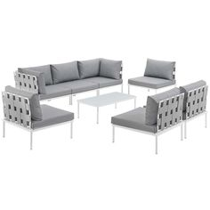 Darnell 8 Piece Sectional Set with Cushions