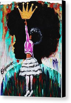 Empower Art Print by Artist RiA. All prints are professionally printed, packaged, and shipped within 3 - 4 business days. Choose from multiple sizes and hundreds of frame and mat options. Black Love Art, Black Girl Art, Art Girl, Black Art For Sale, African American Art, African Art, Dope Kunst, Arte Black, Black Art Pictures