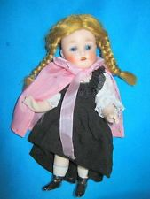 "gorgeous S.K. antique bisque mignonette doll  6"" - Germany"