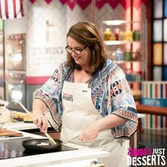 """Large and incharge"" 🤷 Sugar-cane farmer 🍬Australia's best pavlova-maker? Contestants on Season 2 of Zumbo's Just Desserts wear Cargo Crew ""Otto"" Aprons Bib Apron, Aprons, Zumbo's Just Desserts, Name Embroidery, Embroidery Services, Pavlova, Tea Towels, Season 2, Apron"