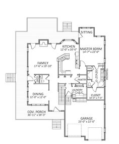 Clearwater pointe c home plans and house plans by for Cardinal house plans