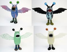 The Mooncrow Resin Figure by Motorbot