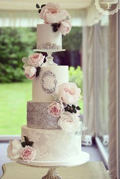 9 Amazing Wedding Cake Designers We Totally Love ❤ See more: http://www.weddingforward.com/wedding-cake-designers/ #wedding