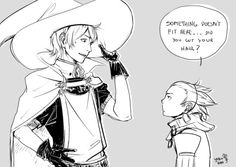 Ricken growing up to be taller than everyone is perfect