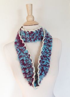 Harriet CIRCLE SCARF  SALE Ready to Ship Super Soft by theyarnival, $18.00