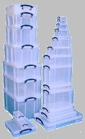 Really Useful Boxes marque de rangements en plastique