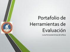 Portafolio de herramientas de evaluación English Class, Portfolio, Language, Classroom, Names, Author, Letters, Teaching, Education