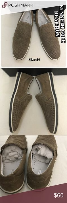 🆕 Authentic Men's Slip On NIB 🆕 Authentic Kenneth Cole Men'S STROLL AROUND Slip On Shoes NIB Size:10  Color:Dark Taupe Kenneth Cole Reaction Shoes Loafers & Slip-Ons