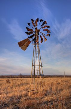 Windmill at Mile Marker 63, on I-44 in Oklahoma.