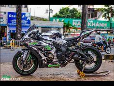 ZX10R Sport Motorcycles, Kawasaki Motorcycles, Custom Sport Bikes, Kawasaki Zx10r, Zx 10r, Supersport, Sportbikes, Racing Team, Kawasaki Ninja