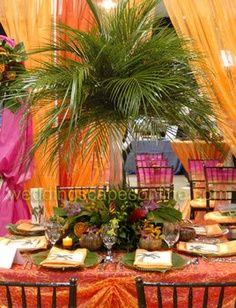 Pineapple Palm Tree Fruit Display | Luau Party Pineapple Palm Tree Tropical Fruit Display Kit Pictures