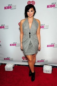 Demi Lovato Style - Demi Lovato Photos - 103.5 KISS FM's Jingle Ball 2014…