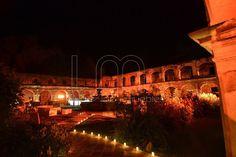 Encaminamiento en velas  Iluminación Ámbar  Evento en Ruina Santa Clara  Guatemala!!!  Wala Events!!!