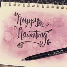 Halloween lettering with spiderwebs & embellishments . . . #type #brushtype #penandink #handfont #moderncalligraphy #calligraphy #brushcalligraphy #handwriting #brushlettering #brushlettered #brushletter #letter #handlettered #typography #handlettering #lettering #handtype #brushtype #brushscript #dndchallenge #togetherweletter #rockyourhandwriting #bujo #bulletjournal #bulletjournaljunkies
