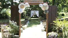 best Outdoor Wedding Entrance Ideas