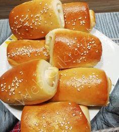 Hungarian Recipes, Pretzel Bites, Hot Dog Buns, Hamburger, Bread, Baking, Food, Addiction, Breads