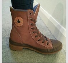 Okay I am so obsessed with these converse boots.