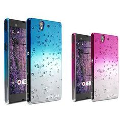 Imak Ultra-thin PC Colorful Raindrop Series Hard Case For Sony Xperia Z