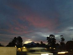 Un bello amanecer en tlaxcala