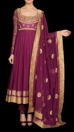 Ritu Kumar's Formal Wear Anarkali Collection | Fashion with Me