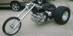 Frankenstein Trikes | Frankenstein Trike Conversion Kit Custom Honda CBX photo
