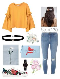 """""""No Name"""" by emma-natalie ❤ liked on Polyvore featuring MANGO, Dorothy Perkins, Gucci, Her Curious Nature, Amanda Rose Collection, RED Valentino and Abbott Lyon"""