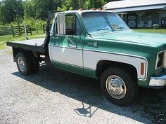1985 Chevy 1 Ton Dually | 1975 Chevy Silverado C30 Flatbed - Dually - 1 Ton Truck photo 7