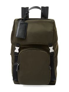 Medium Nylon Backpack from The Bag Guide Feat. Rawlings on Gilt