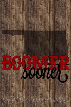 Boomer Sooner! Dont Back Down, Oklahoma Sooners Football, Boomer Sooner, University Of Oklahoma, Iphone Wallpaper, Sporty Chic, Thunder, Pallet, Sports