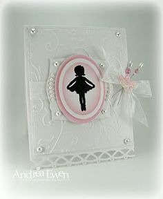 This would be such a lovely card for the flower girl