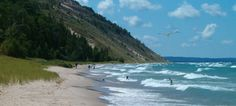 Lake Michigan Beach Park: Empire, Michigan