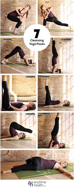 Yoga - cleansing poses