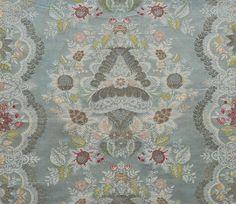 Frammento di tessuto. Italia o Francia, primo quarto XVIII sec. Palazzo Madama - Museo Civico d'Arte Antica (Torino, Italy).