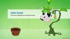 The Sims 4 Cow Plant Wallpaper