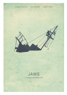 Movie Posters by Daniel Keane, via Behance