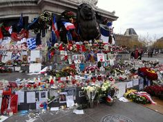 A large public square in Paris, located at the site occupied in the 14th century by the stronghold of Charles V's Porte du Temple enclosure, honoring the French Revolution. It became a key memorial spot after the Nov. 13, 2015, terrorist attacks. Photo by Brian Kaylor.