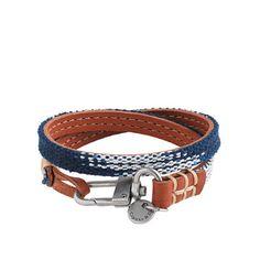 J. Crew: Caputo & Co. Reversible Leather Wrap Bracelet