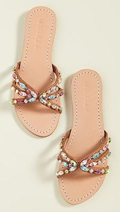 New Mystique Jewel Mix Slides. Womens Fashion Shoes from top store Stylish Sandals, Cute Sandals, Slide Sandals, Shoes Sandals, Mystique Sandals, Fashion Shoes, Fashion Accessories, Block Heel Loafers, Cute Slippers