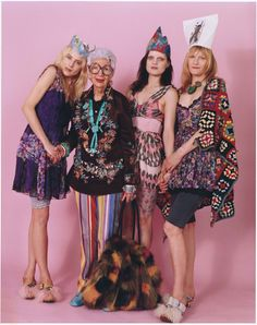 wmagazine:  Party PeoplePhotograph by Bruce Weber, styled by Camilla Nickerson; W magazine March 2010.